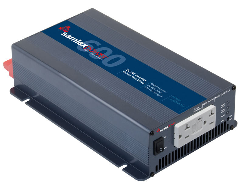 Samlex 600 Watt Pure Sine Inverter top view