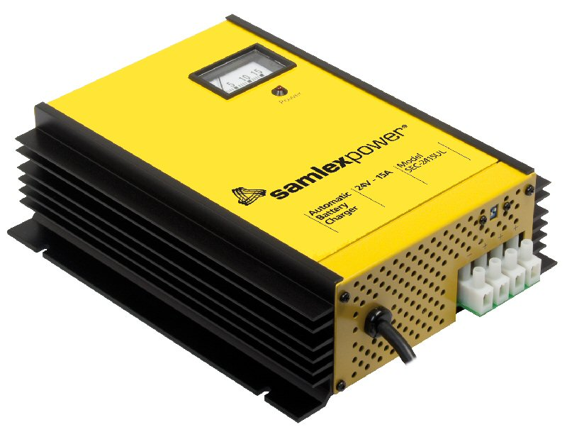 Samlex SEC2415A 15 Amp 24 Volt Battery Charger